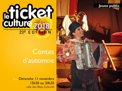 Ticket culture : Spectacle jeune public à Eydoche