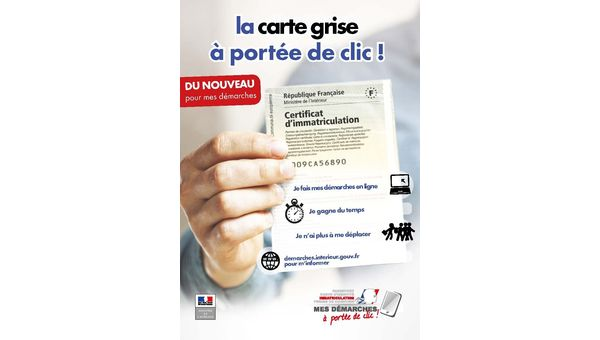 Certificats d'immatriculation : information